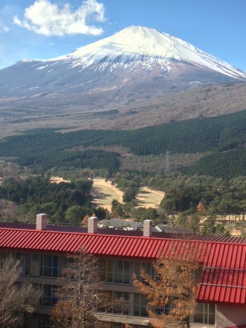 須走富士山全景